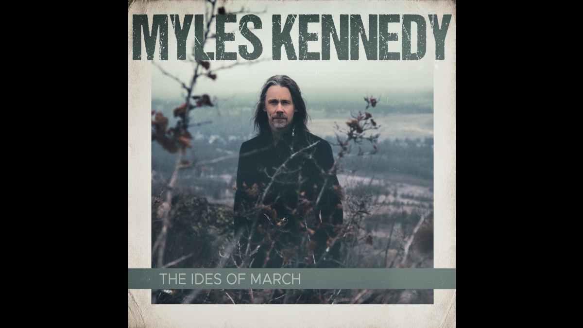 Myles Kennedy cover art courtesy PFA