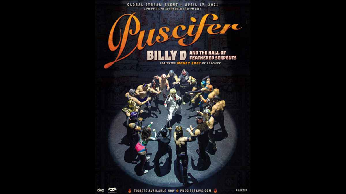 Puscifer event poster