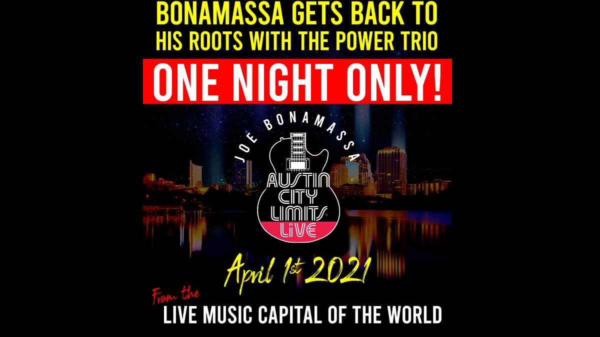 Joe Bonamassa event poster