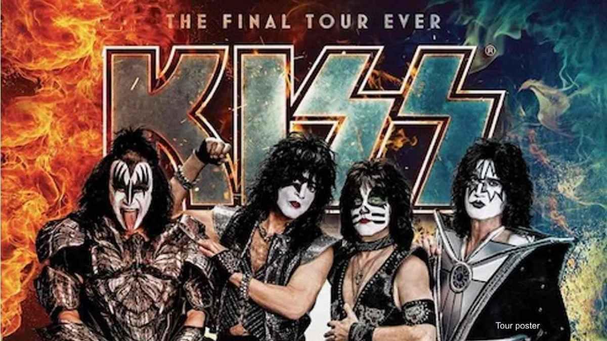 KISS Farewell Tour poster