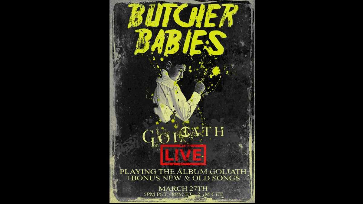 Butcher Babies event poster