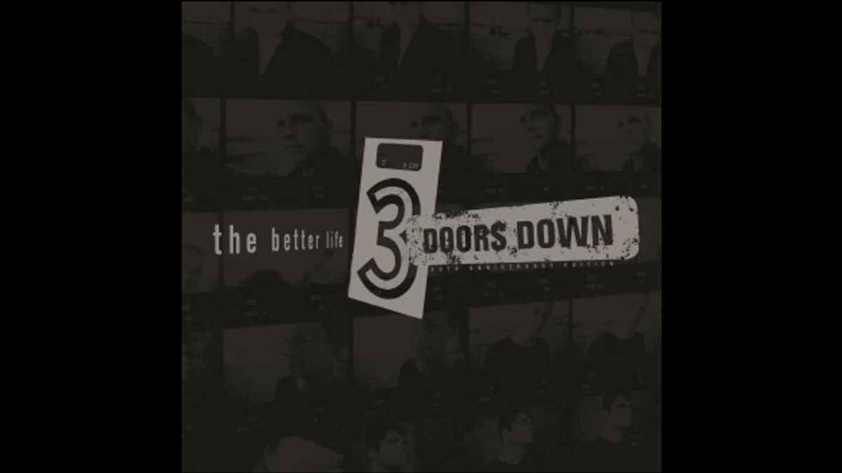 3 Doors Down album cover art courtesy UMe
