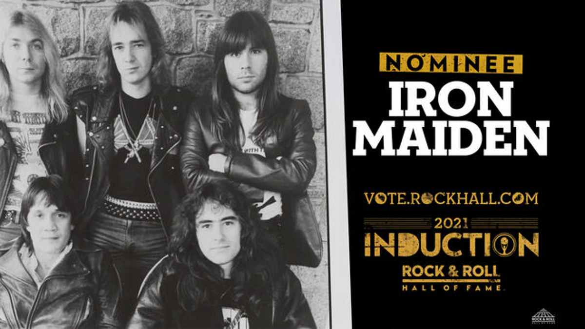 Iron Maiden Hall of Fame website screenshot