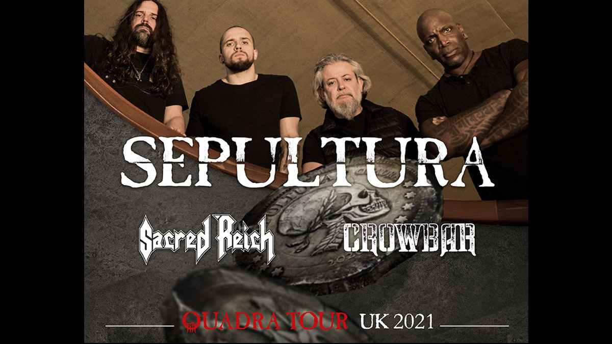 Sepultura tour poster