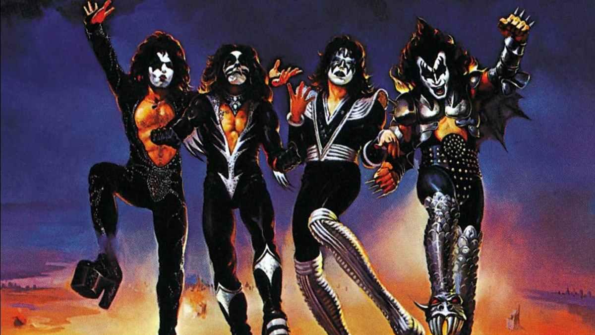 KISS Destroyer album cover
