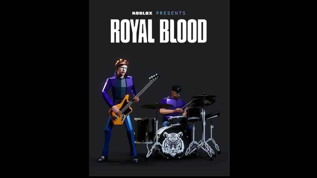 Royal Blood event poster courtesy Warner Records