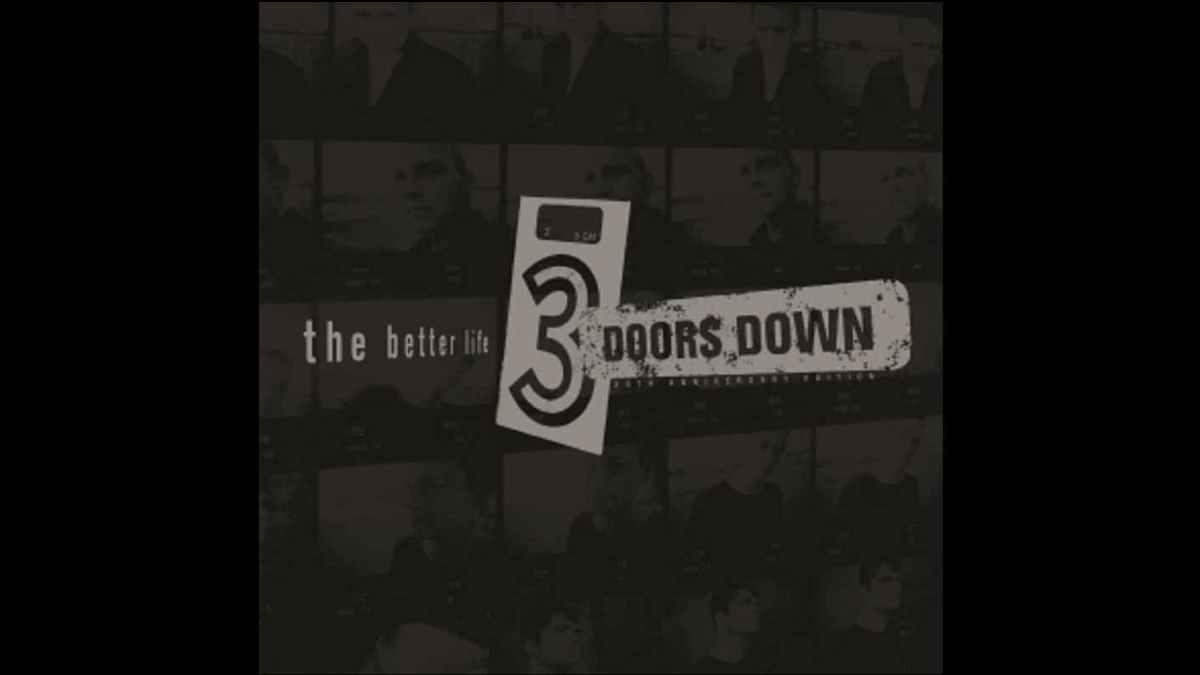 3 Doors Down album cover art courtesy UMe
