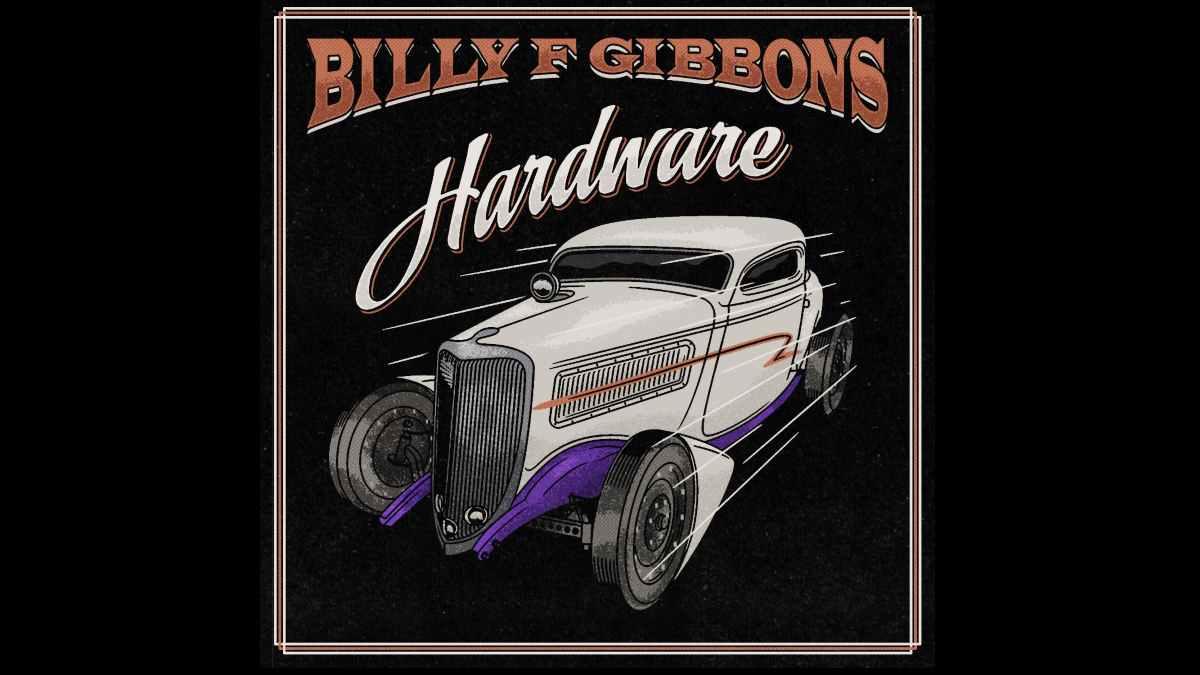 Billy F Gibbons album cover art