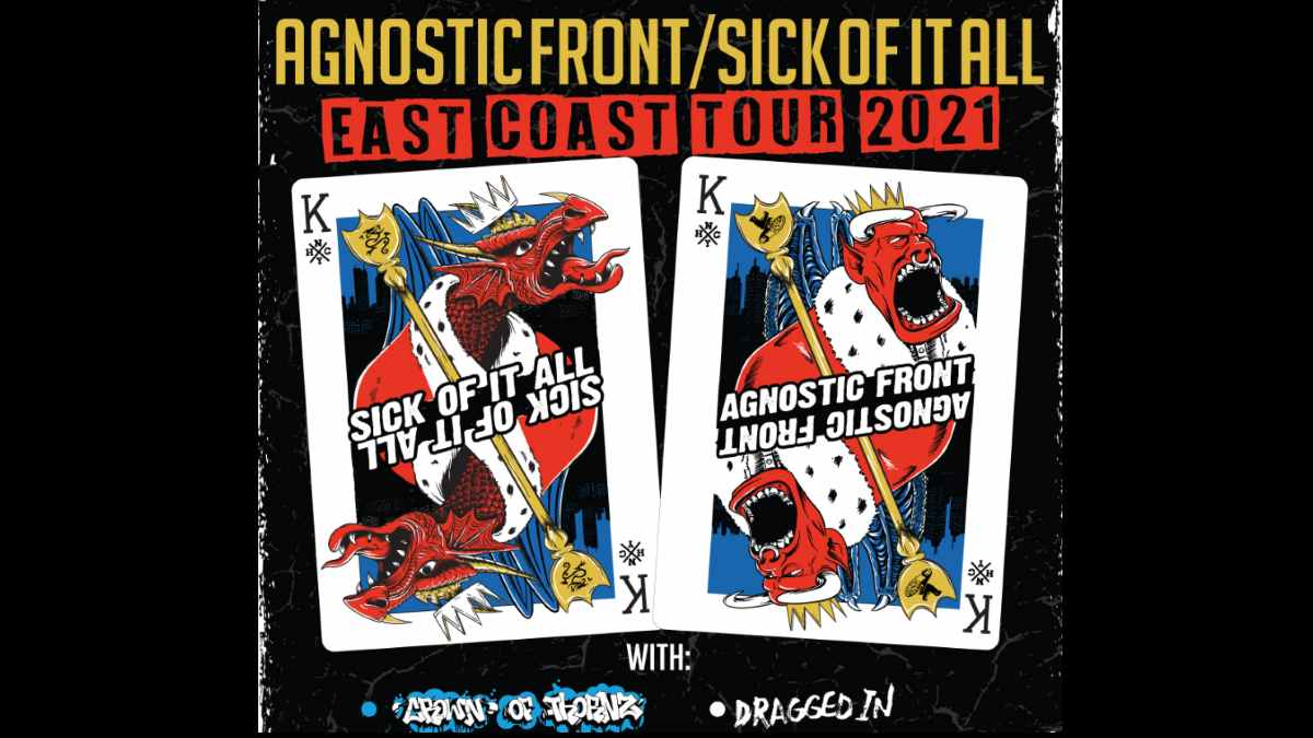 Sick Of It All tour poster