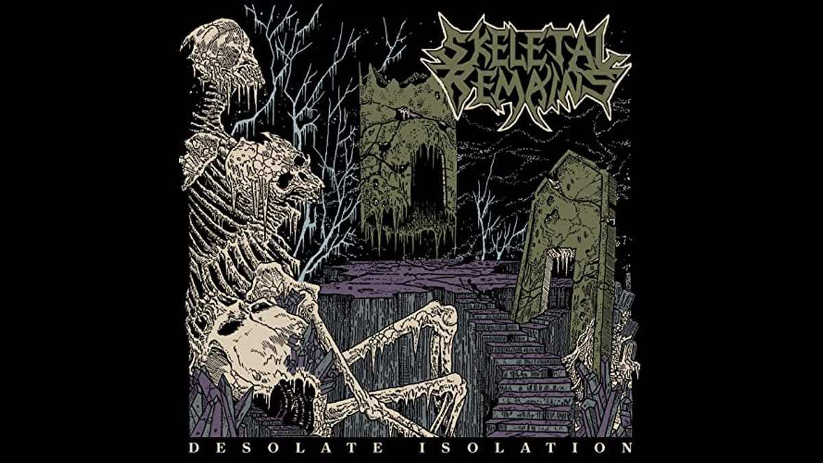 Skeletal Remains Desolate Isolation cover art courtesy The Orchard