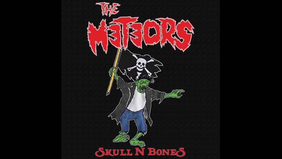The Meteors Skull N Bones cover art courtesy Glass Onyon