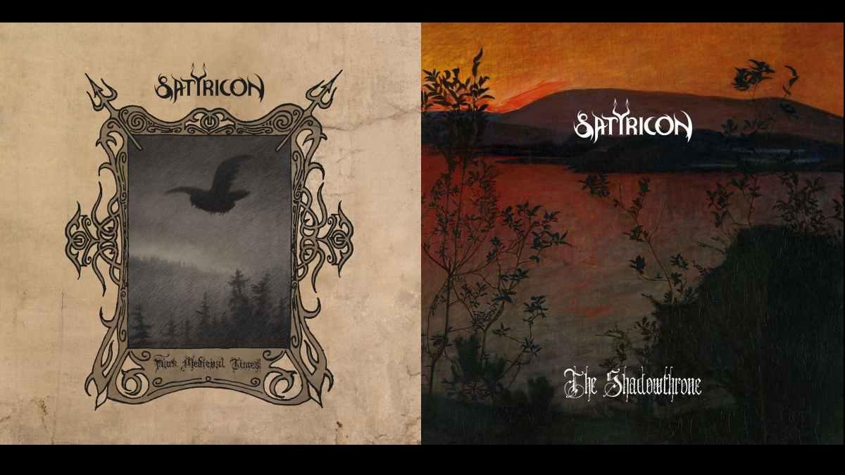 Satyricon cover art courtesy Napalm Records