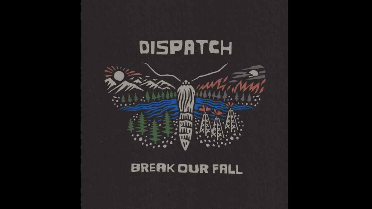 Dispatch album cover art courtesy Press Here