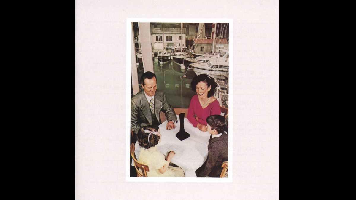 Led Zeppelin album cover art