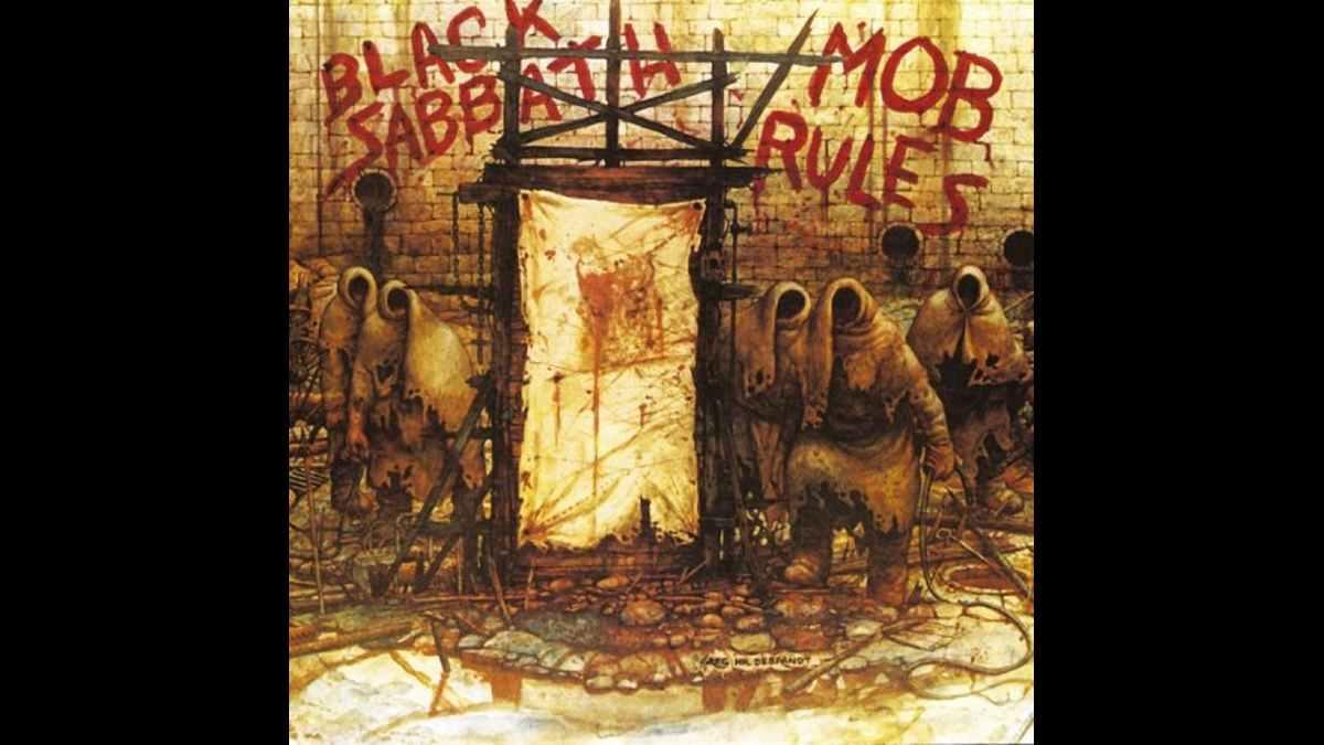 Black Sabbath Mob Rules cover art