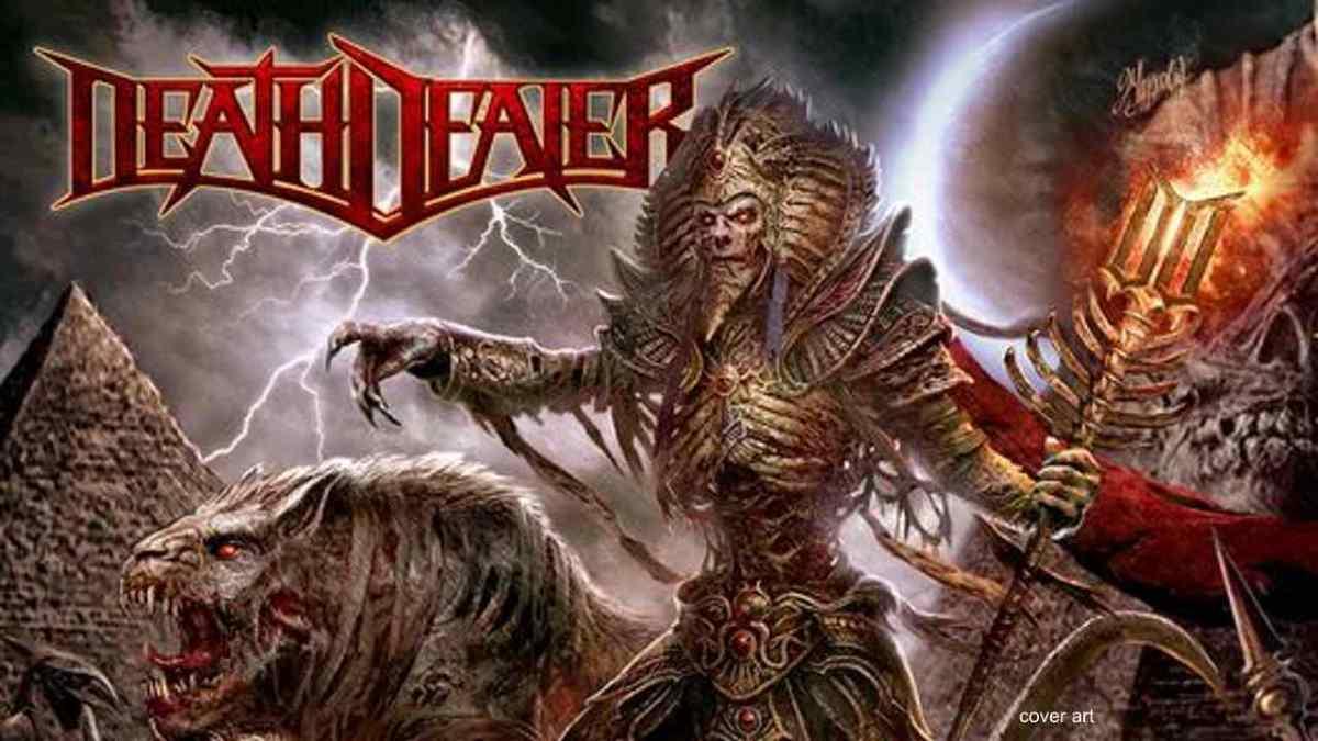 Death Dealer album cover art