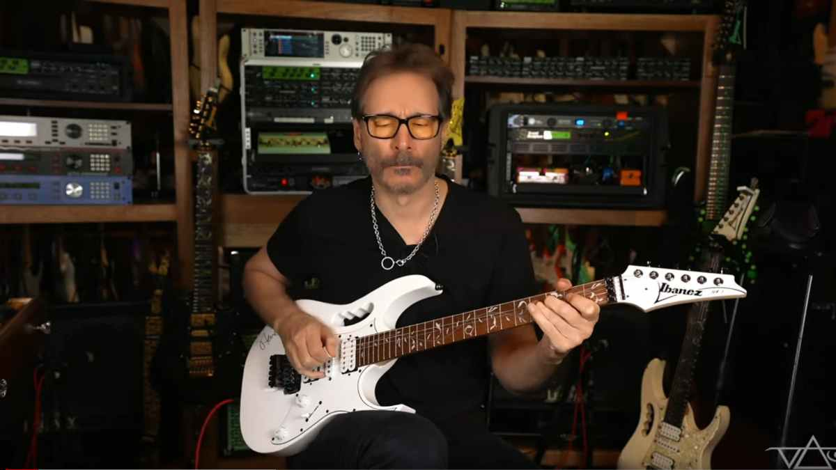 Steve Vai video still