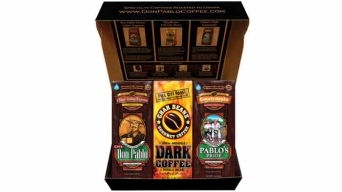 Don Pablo Coffee Sampler Box