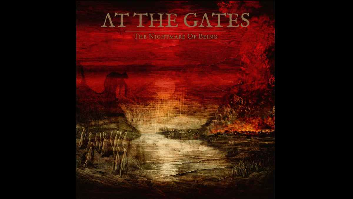 At The Gates album cover art courtesy The Orchard
