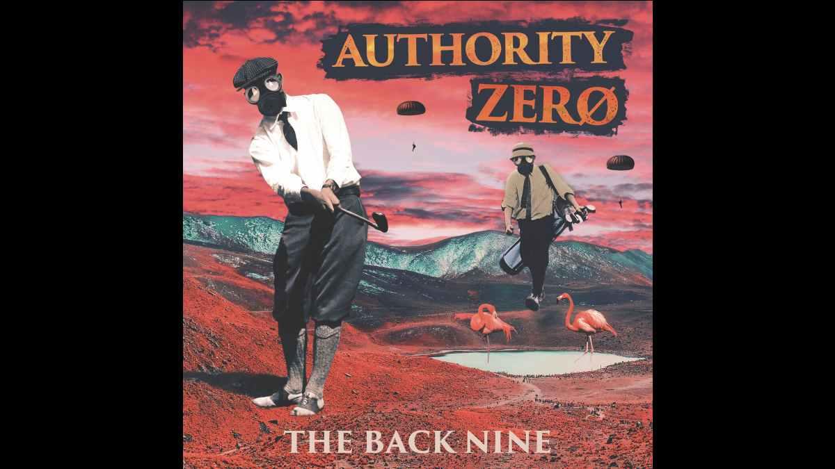 Authority Zero EP cover art
