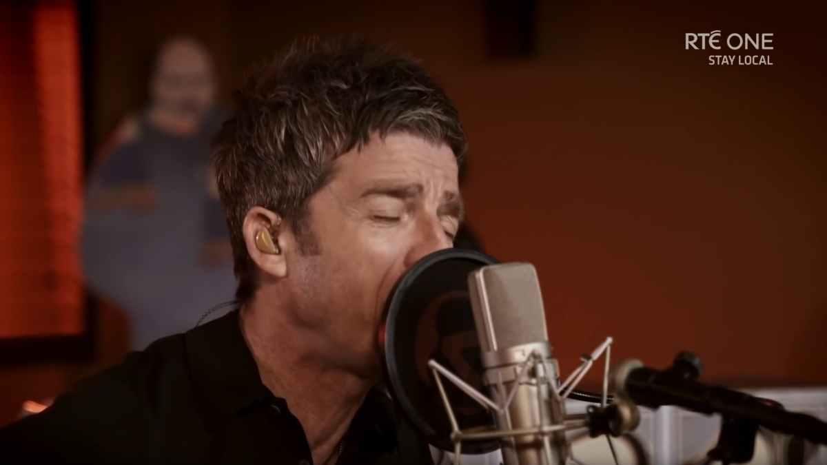 Noel Gallagher video still