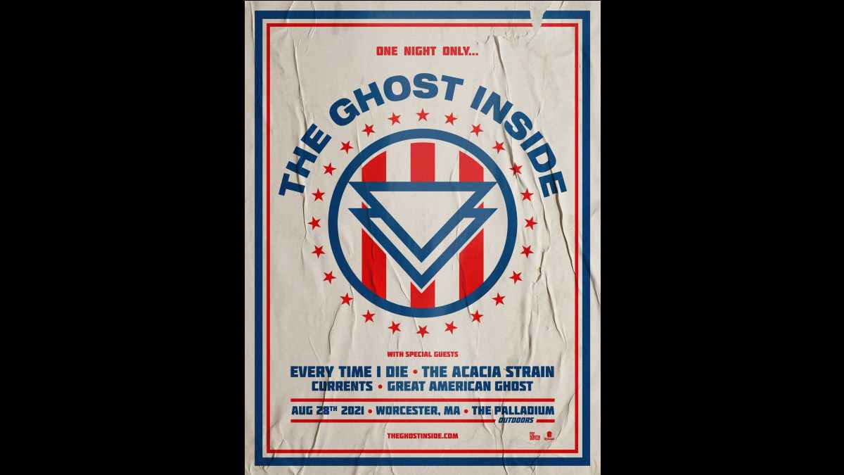 The Ghost Inside event poster