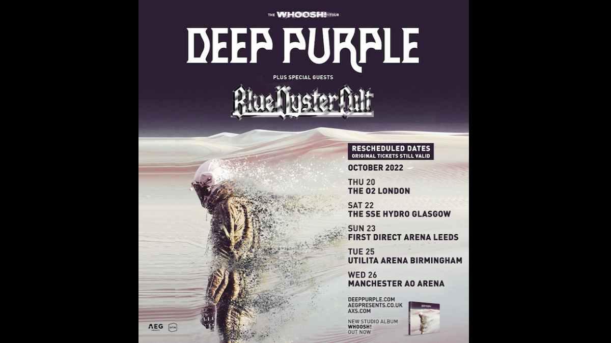 Deep Purple tour poster