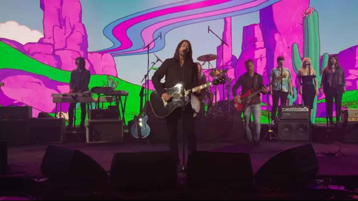 Foo Fighters video still