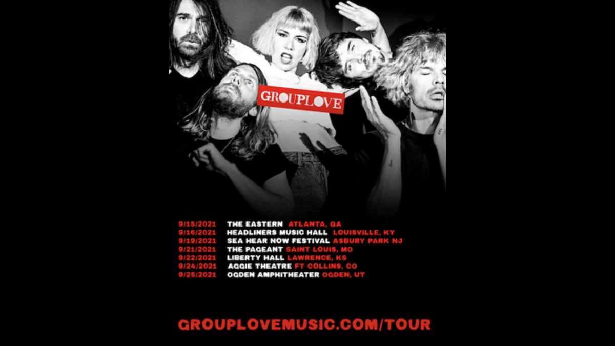 Grouplove tour poster
