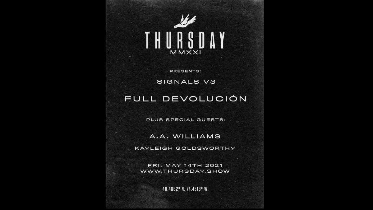 Thursday event poster