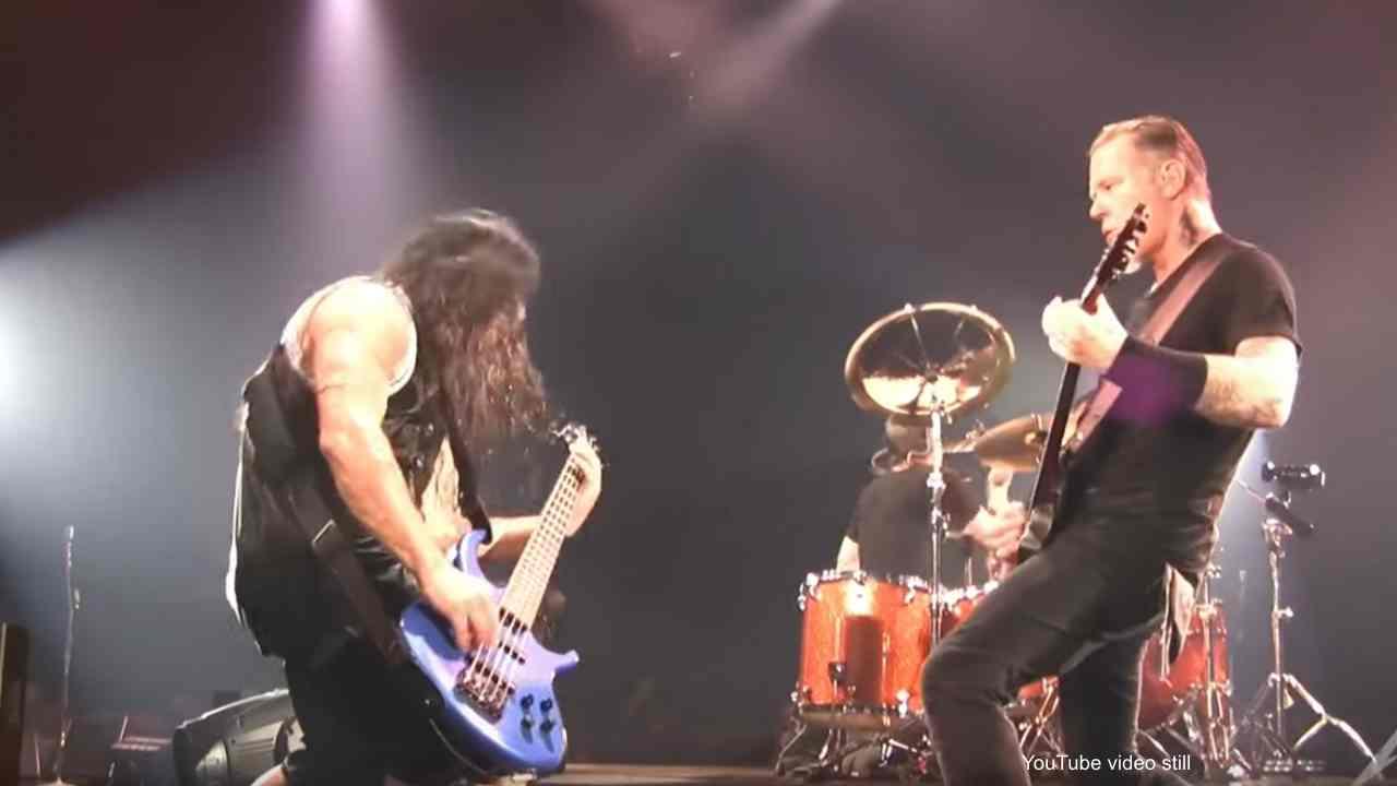Metallica video still