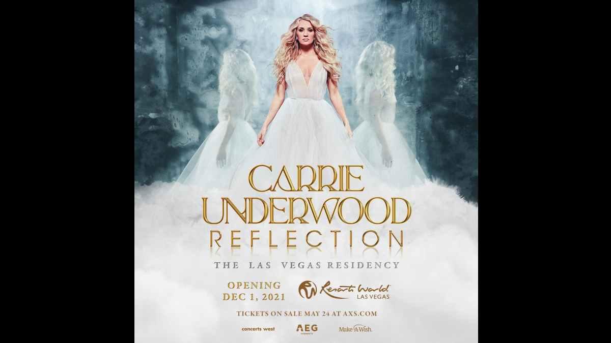 Carrie Underwood residency poster