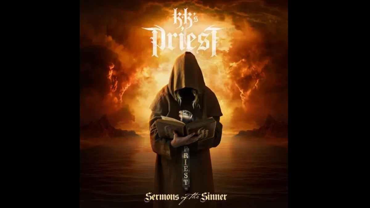 KK's Priest album cover art