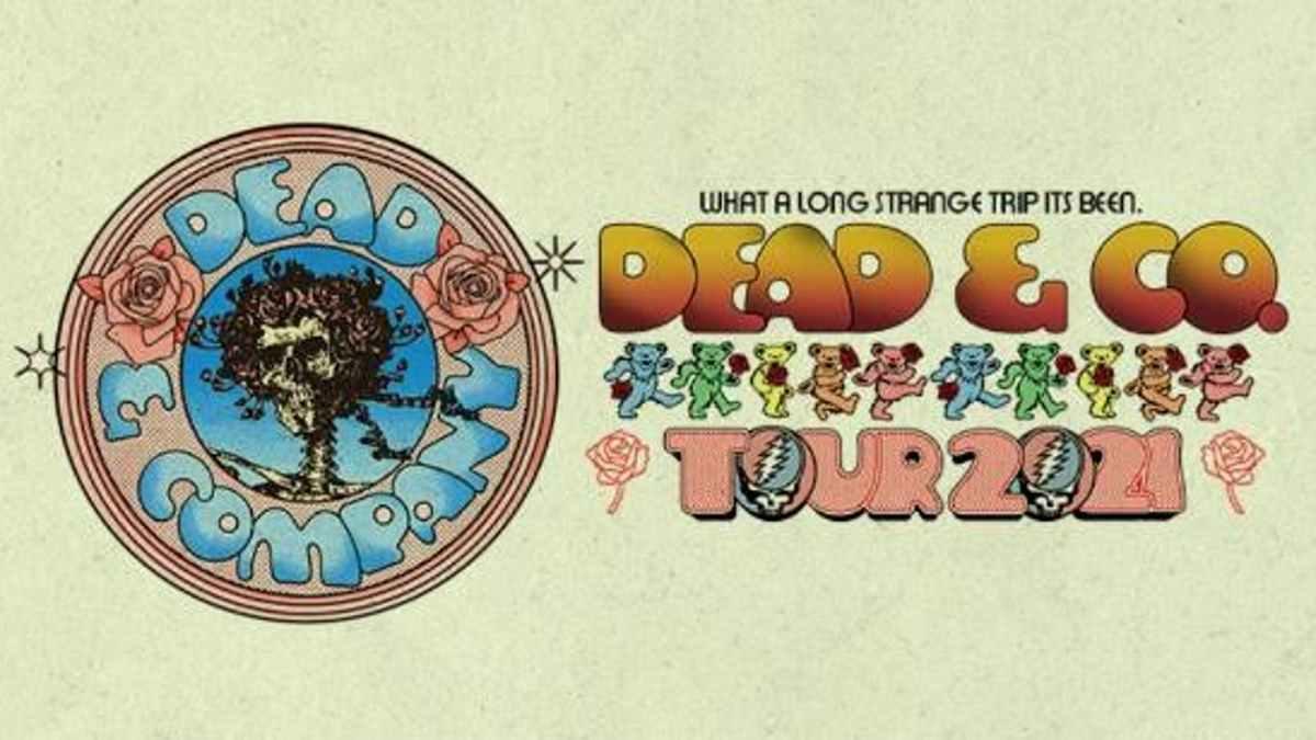 Dead Company tour poster