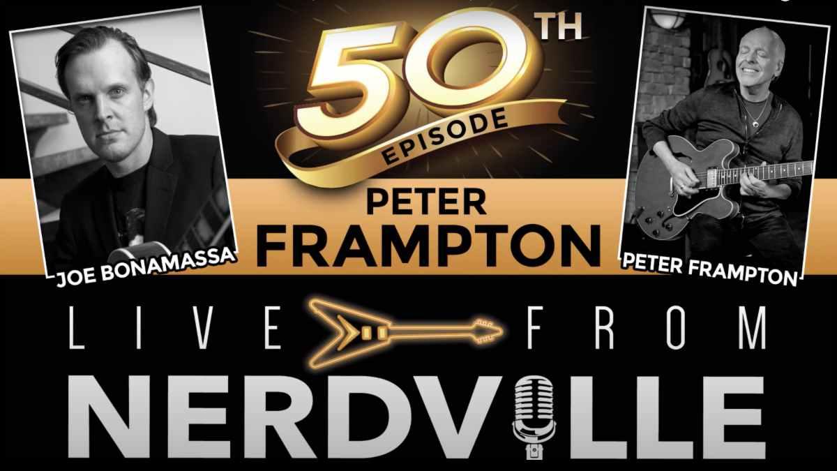 Peter Frampton show promo