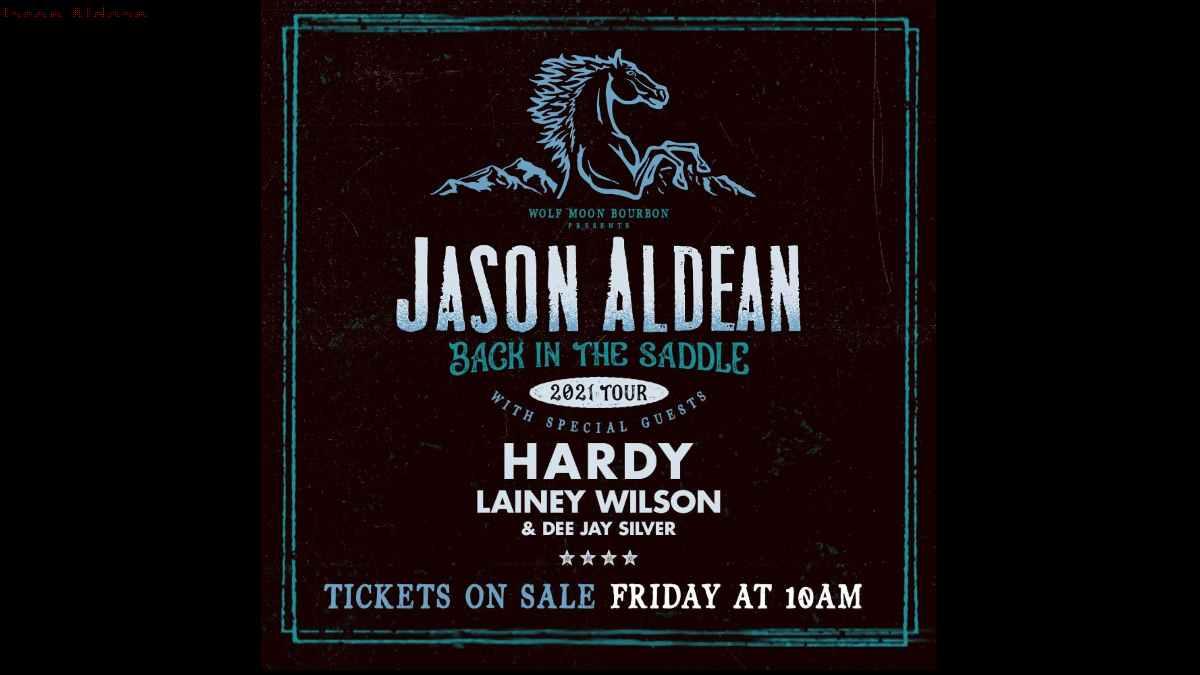 Jason Aldean tour poster