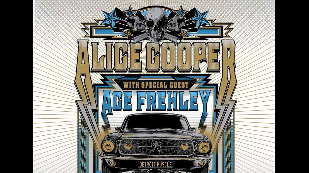 Alice Cooper tour poster