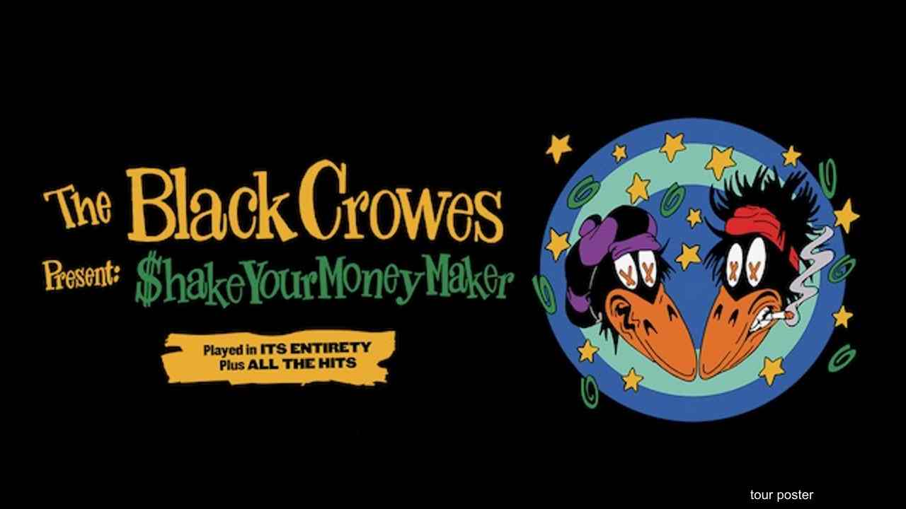 Black Crowes tour poster
