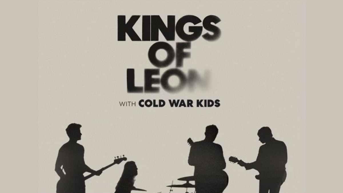 Kings Of Leon tour poster