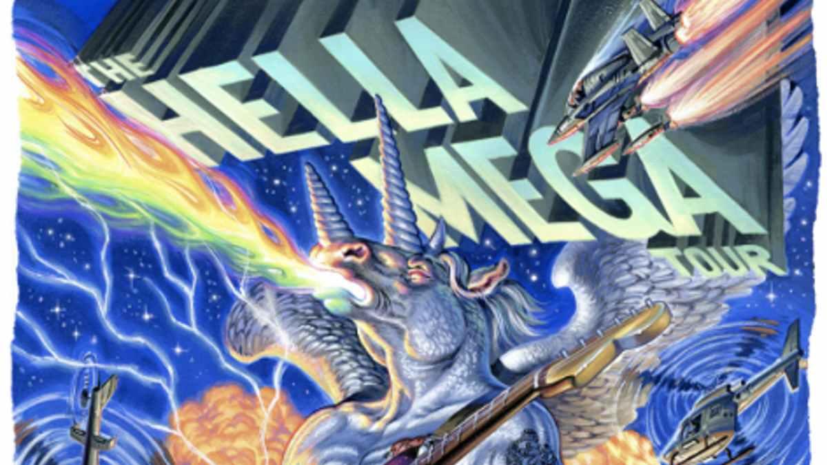 Weezer tour poster