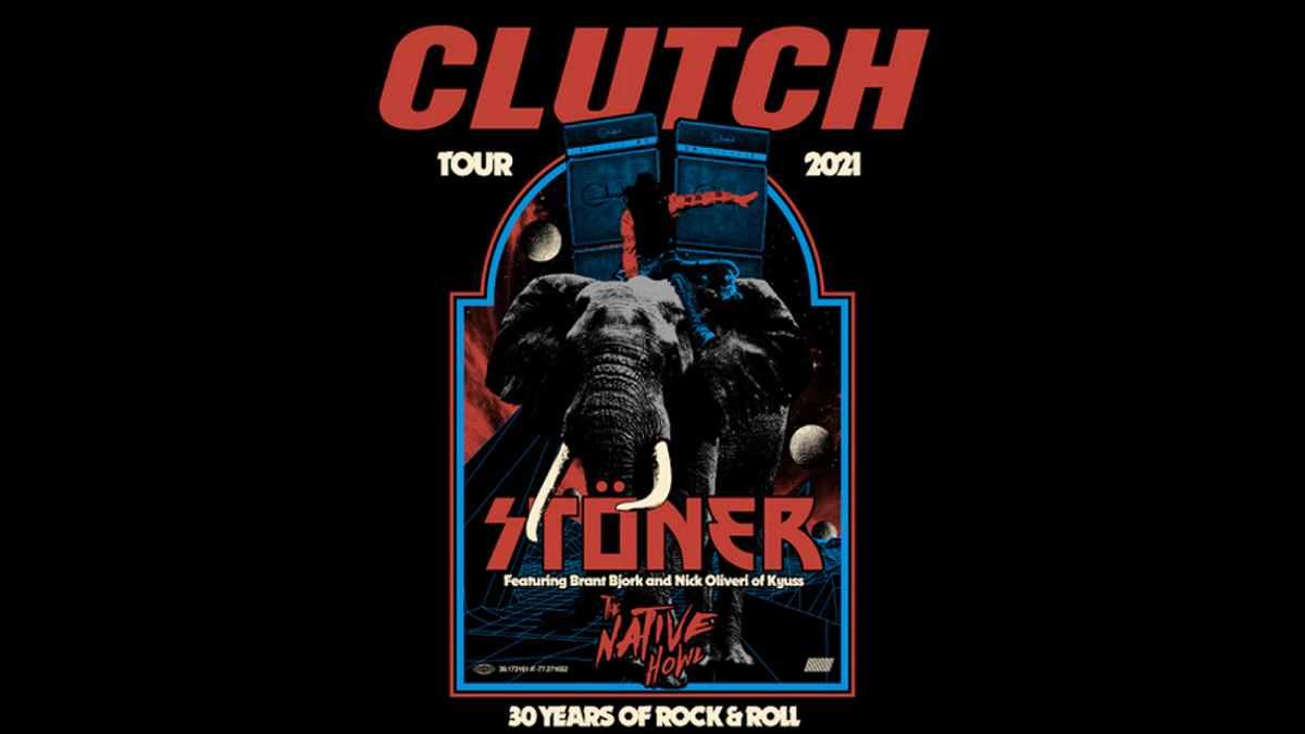 Clutch tour poster