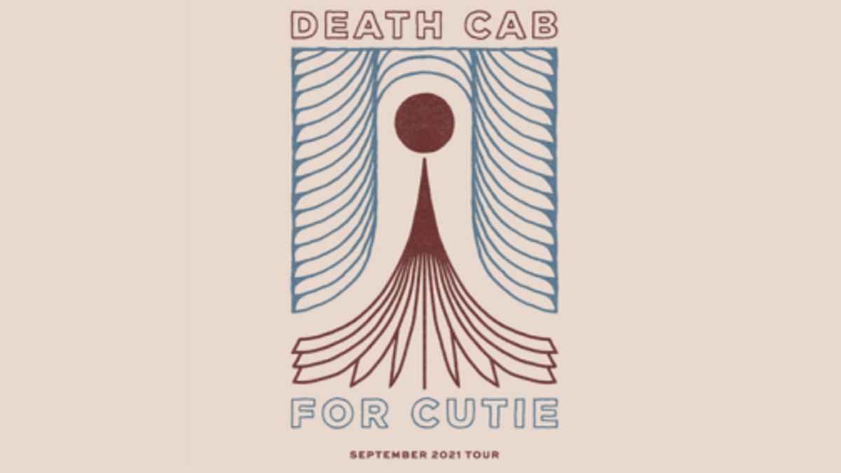 Death Cab For Cutie tour poster