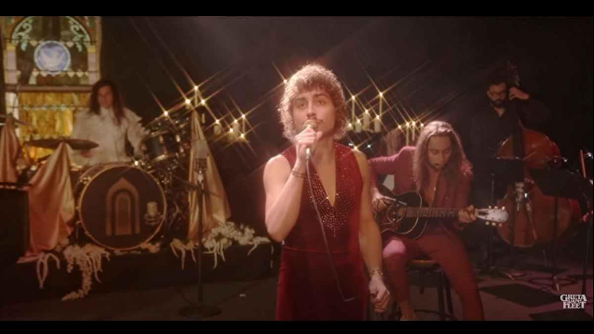 Greta Van Fleet video still