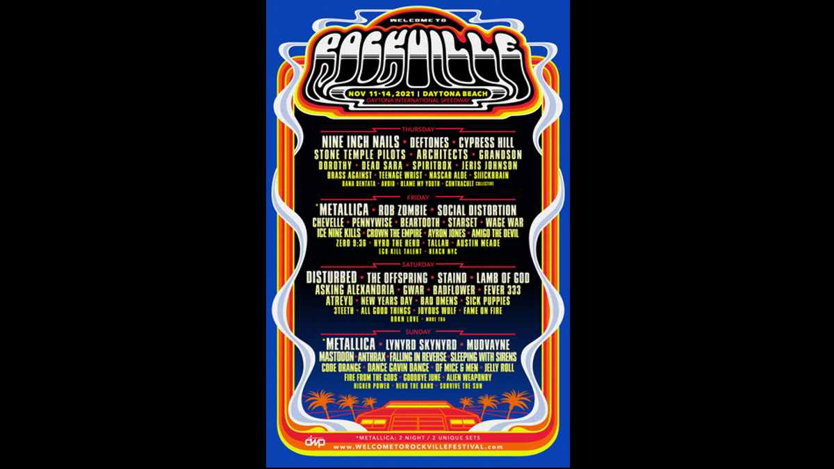 Welcome To Rockville event poster