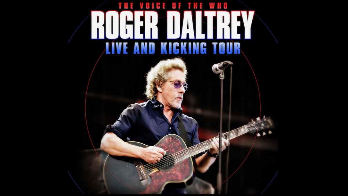 Roger Daltrey tour poster