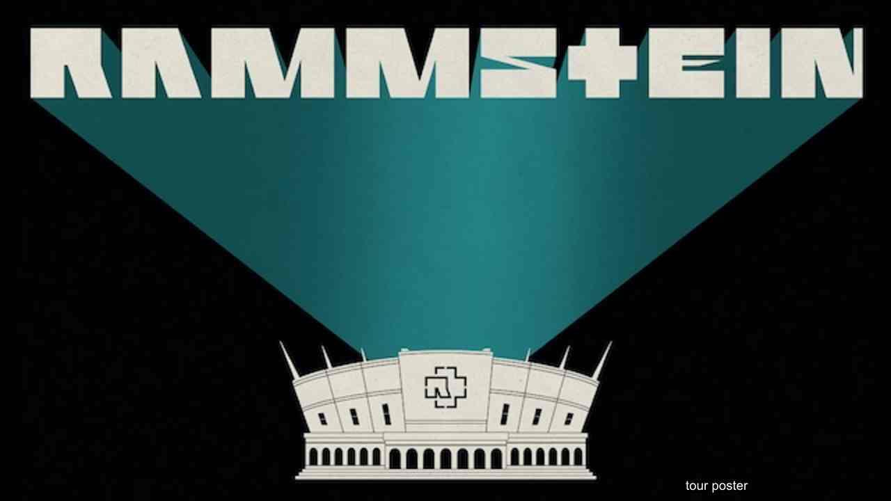 Rammstein tour poster