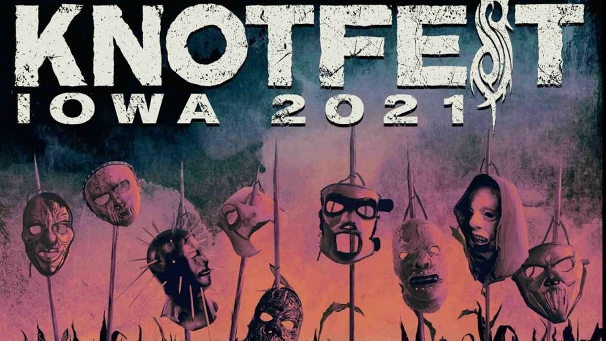 Slipknot event poster