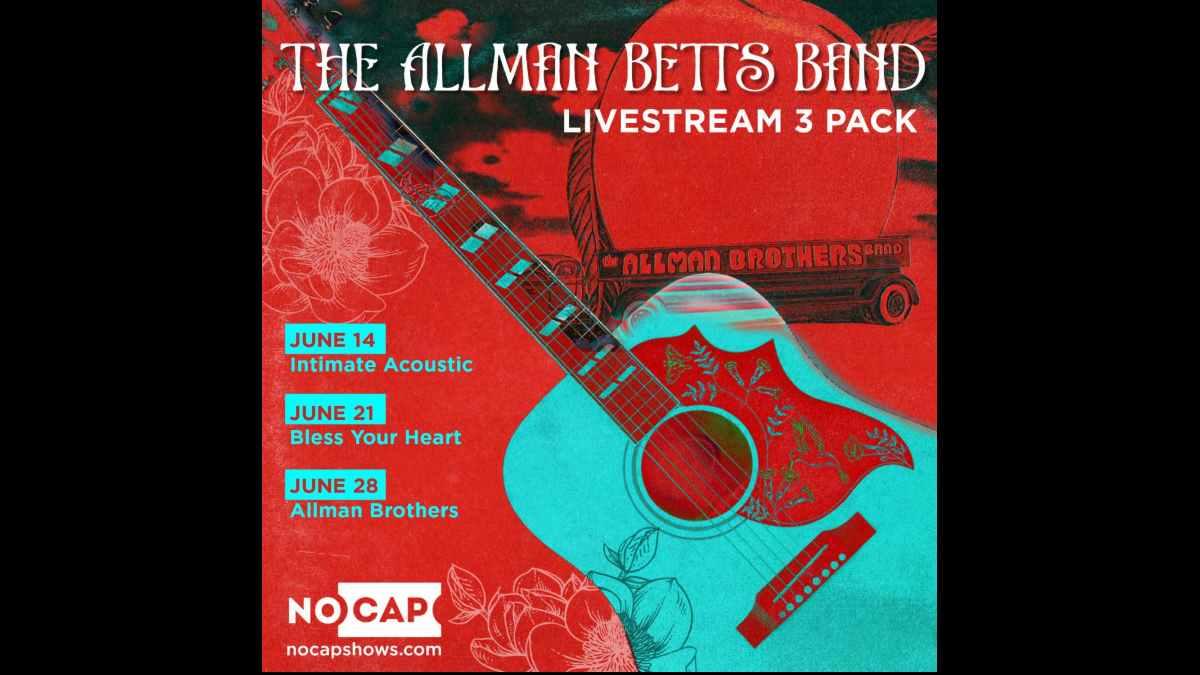 Allman Betts Band livestream events poster