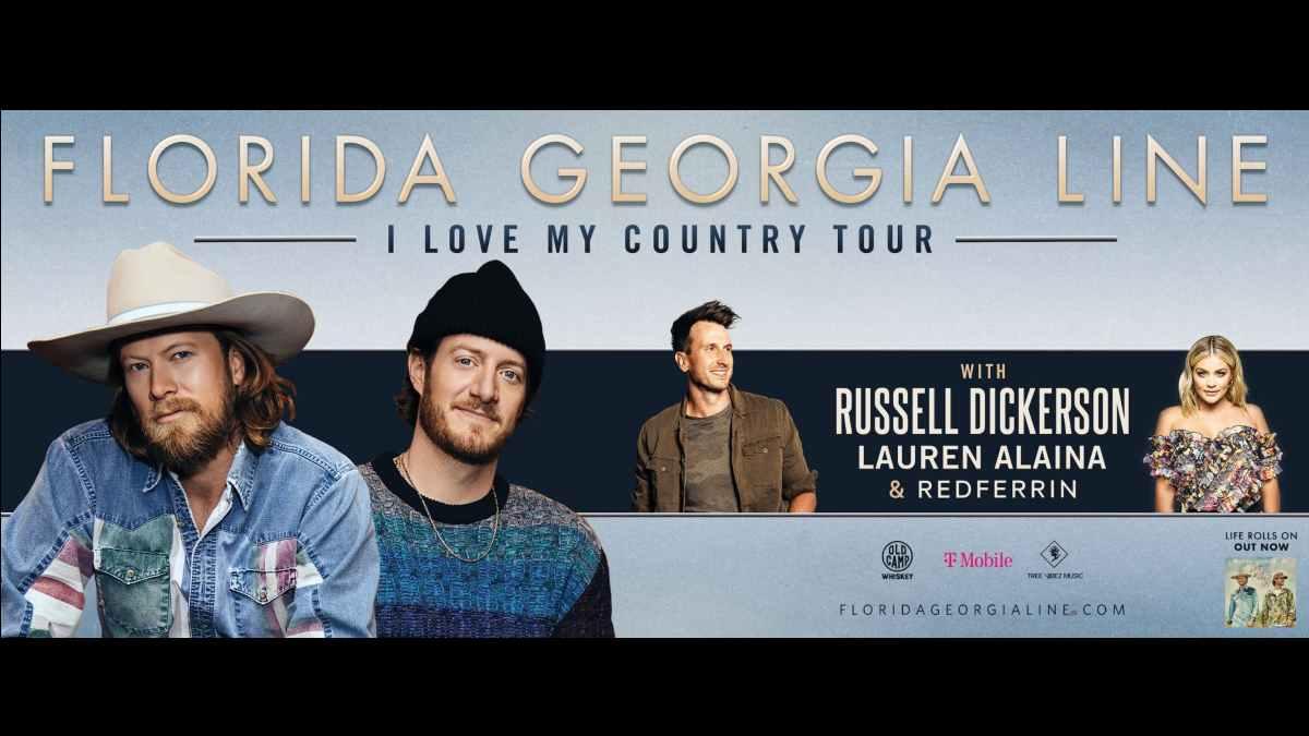 Florida Georgia Line tour poster