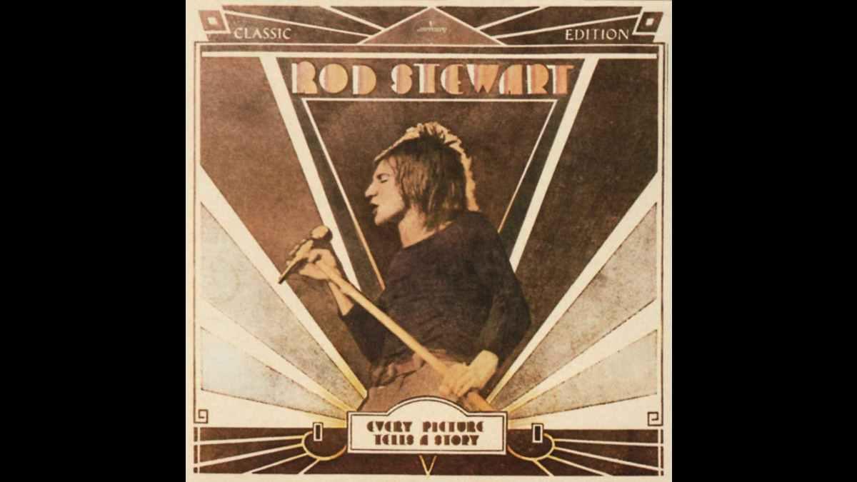 Rod Stewart album art